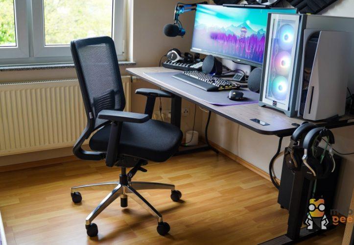 Yaasa Chair Bürostuhl Ergonomisch Mobilegeeks Test