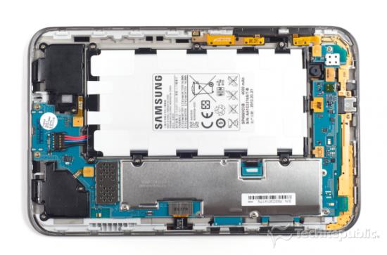 Zerlegt Samsung Galaxy Tab 2 70