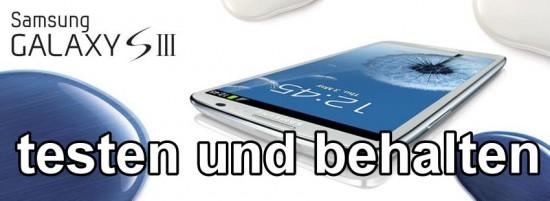 smartphone testen und behalten