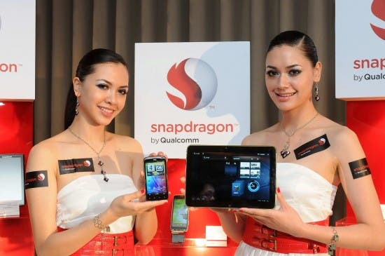 Qualcomm Computex Press Conference Photo 3 550x365 Qualcomm zeigt 10 inch Tablet mit Snapdragon Dualcore