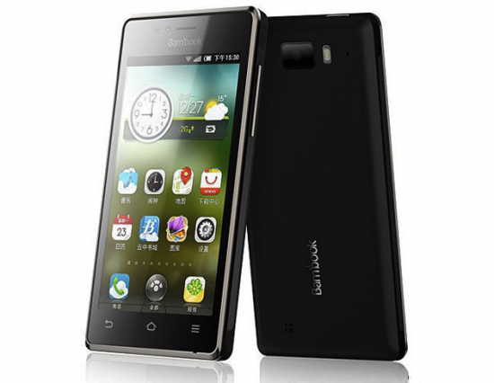 bambook phone 550x426 Shanda Bambook Smartphone   4.3inch qHD Display & 1 GHz Dual Core CPU für nur 160 Euro