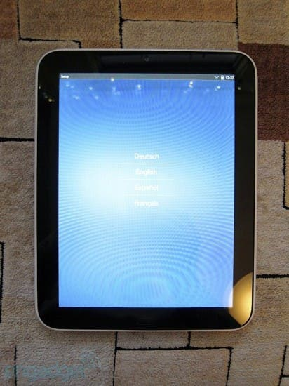 hpwebosdevices27 412x550 Weisses HP TouchPad im Hands On [Video]