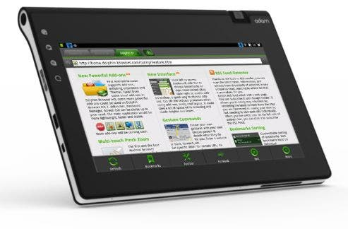 notion ink dolphin2 Notion Ink: Adam 2 Tablet setzt nicht auf Full HD Tablet