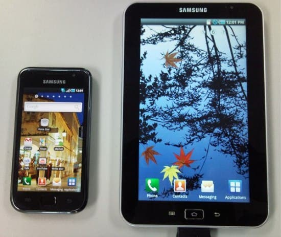 samsung galaxy tab 11 550x463 Samsung Galaxy S & Galaxy Tab bekommen wohl doch abgespecktes Android 4.0